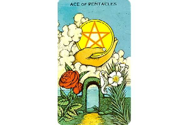 Tarot Card Ace of Pentacles